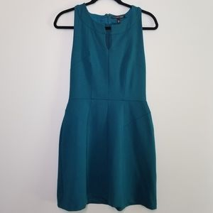 Victoria's Secret sleeveless dress teal sz 8